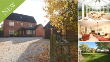 **New Instruction** A superb detached family home with south facing gardens in Anslow