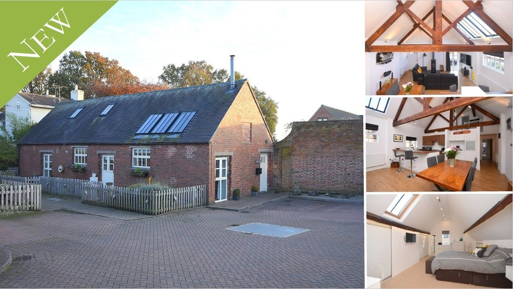 **NEW** A most impressive barn conversion in the desirable Barton under Needwood