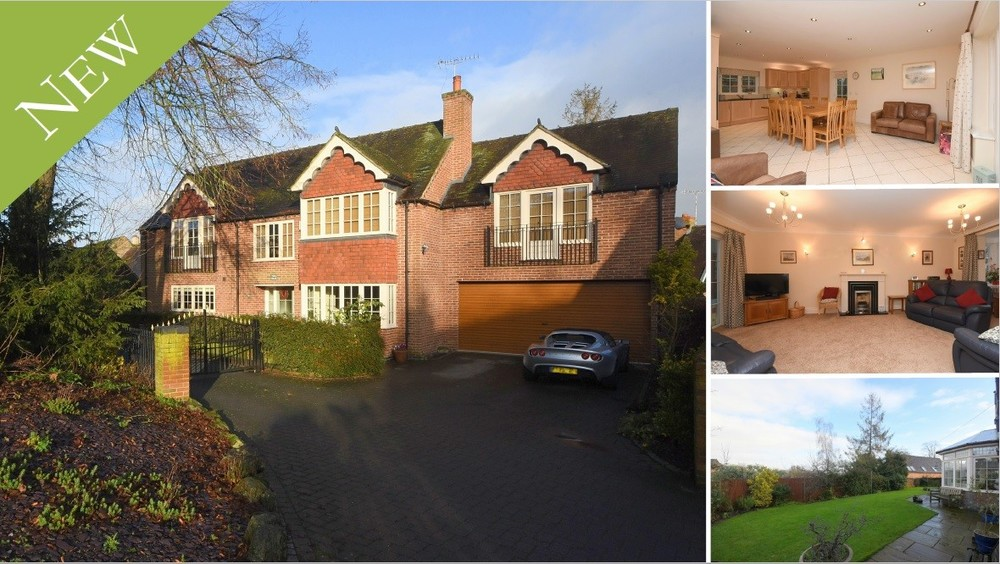 **NEW** An executive detached family home in historic Tutbury