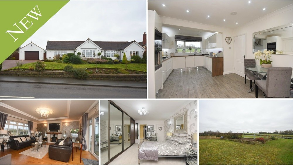 **NEW INSTRUCTION** A  beautifully presented detached bungalow offering spacious rooms on the rural outskirts of Barton under Needwood
