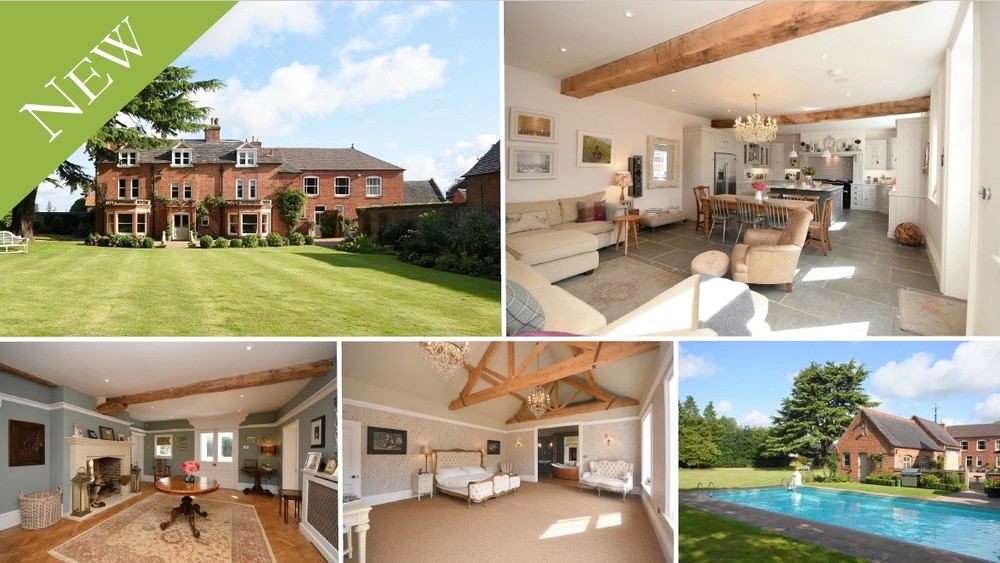 Your 'dream home'... complete with guest house, swimming pool and a tennis court!