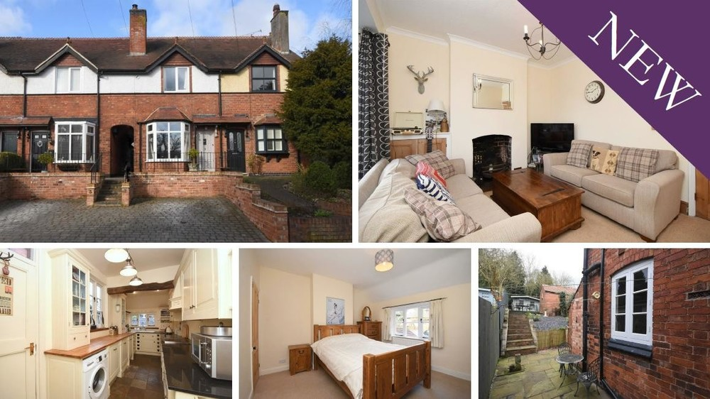 A traditional character cottage in the desirable Tatenhill with No Upward Chain!