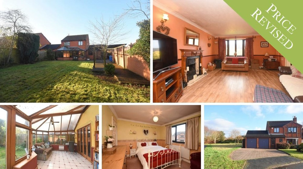 New price on this family home in Kings Bromley