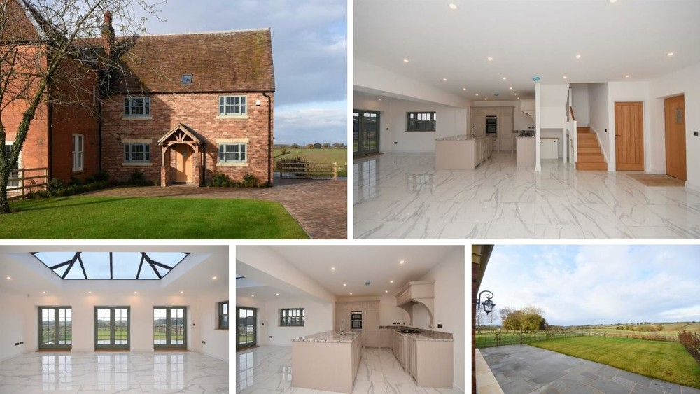 WOW! Our top property for today is Gibson, a stunning character home showcasing high specification and an idyllic rural location