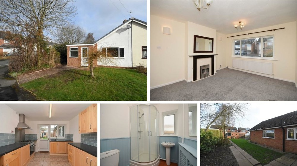 This semi detached bungalow set in Barton under Needwood offers plenty of potential and a corner plot garden
