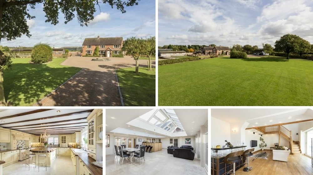 Breach House Farm offers so much more than an idyllic rural position and spacious family home. There are stables, a menage, paddocks and a practice golf course!