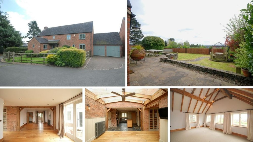 Offered with no upward chain, Thyme House offers ample family accommodation on a bespoke cul de sac in Abbots Bromley