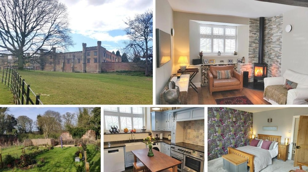 *AS SEEN ON ESCAPE TO THE COUNTRY* Stable Cottage's enviable rural setting within the Blithfield Hall Estate and immaculate interiors make this three bedroom home an ideal buy for those looking for a little luxury!