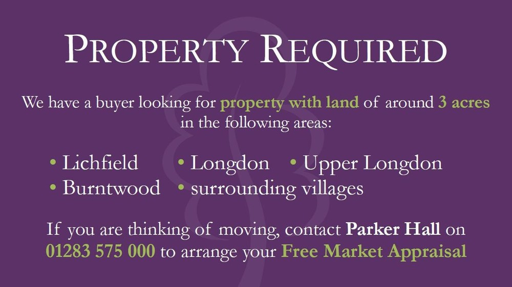 *Property Required* for Buyers Waiting!