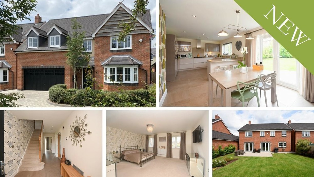 *Price Revised* on this contemporary detached family home on a private road in Yoxall