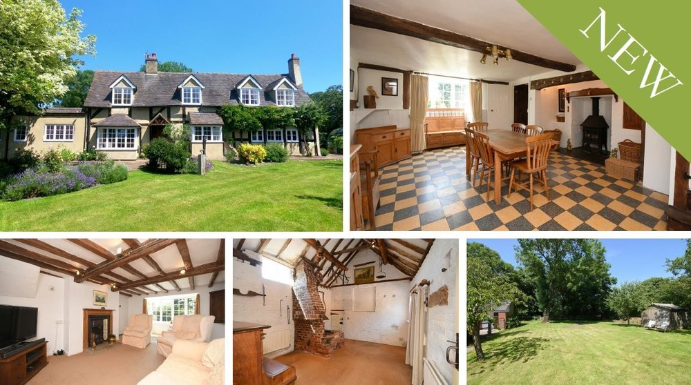 Offering plenty of scope and a wealth of historic character, Wheelwrights House overlooks open countryside and benefits from a superb range of outbuildings.