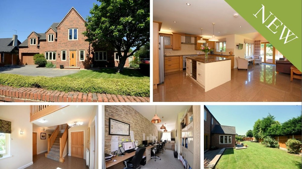 *NEW* An imposing detached village residence showcasing open plan interiors and beautifully landscaped gardens