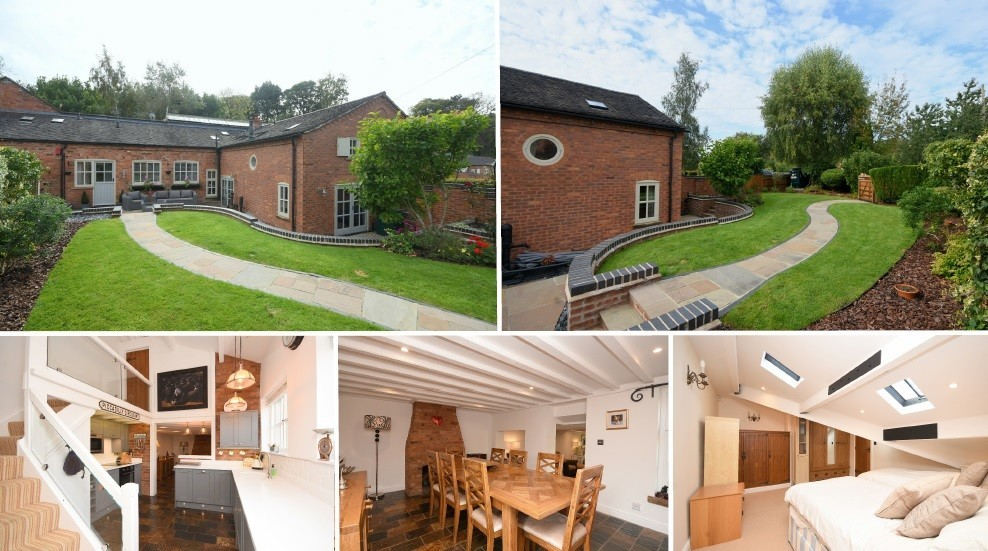 **NEW INSTRUCTION** A beautiful character barn conversion in Hoar Cross